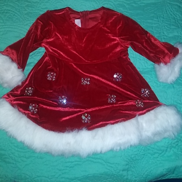 66aea14239fd Bonnie Baby Dresses | Baby Christmas Dress By 3 To 6 Months | Poshmark